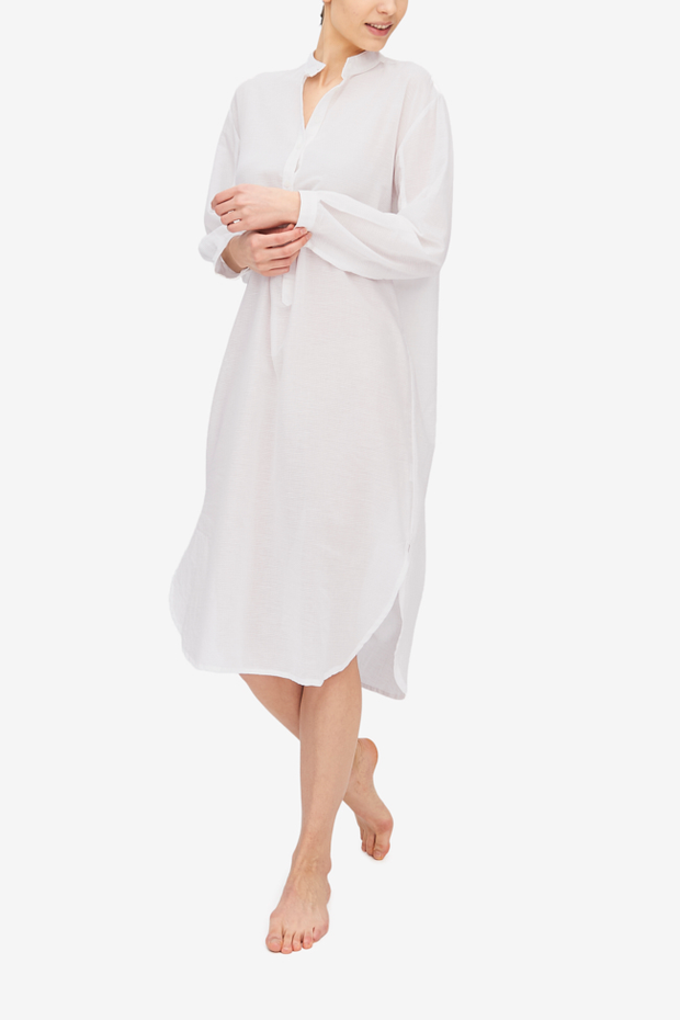 Ankle Length Sleep Shirt Milano Featherweight Blend