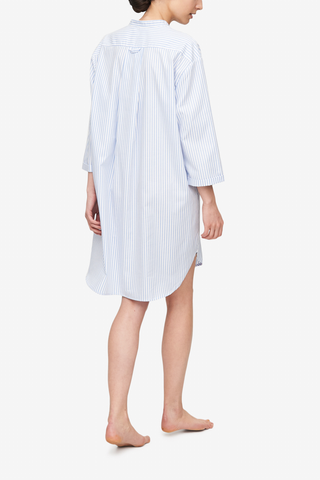 Slip On Sleep Shirt Sunday Uniform Stripe