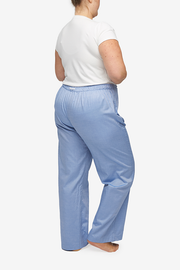 Lounge Pant Blue Classic Oxford
