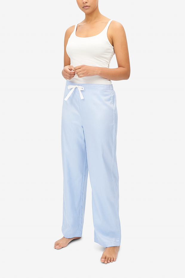Lounge Pant Periwinkle Twill