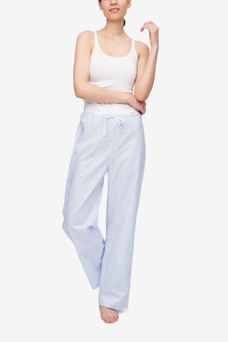 Lounge Pant Cross Blue Stripe