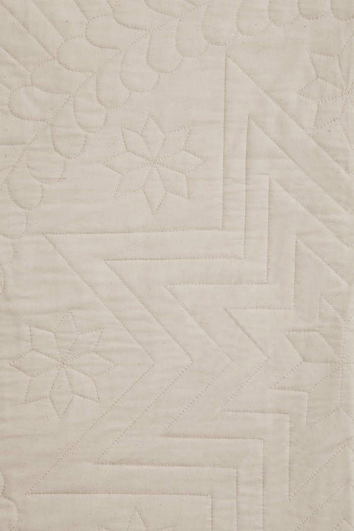 Amish Star Wholecloth Quilt