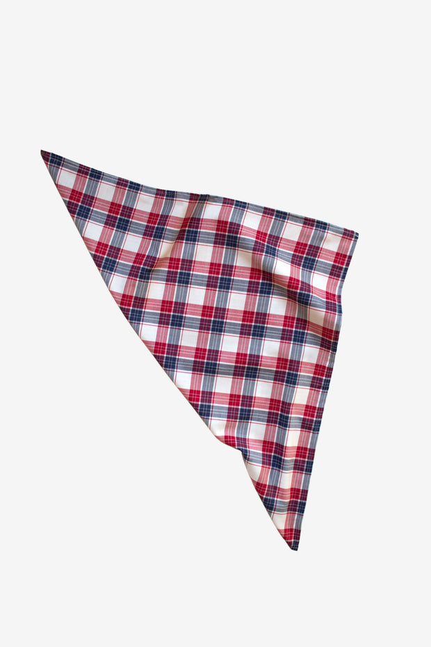 Berry Plaid Kerchief
