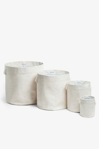 Canvas Hamper - Set of 4 Nested