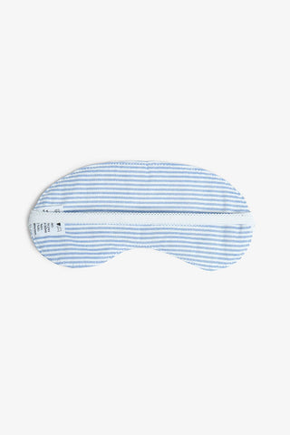 Eyemask Blue Oxford Stripe
