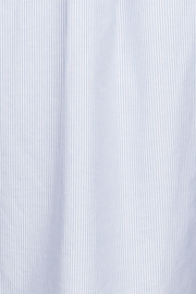 Slip On Sleep Shirt Blue Oxford Stripe PLUS