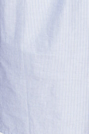 blue oxford stripe cotton fabric by the Sleep Shirt