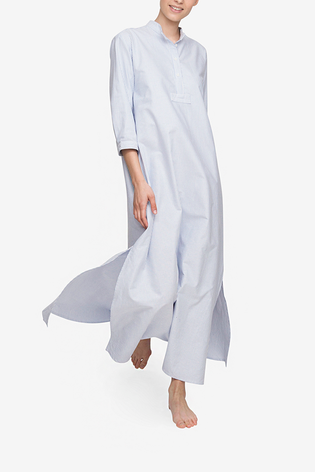 front view full length nightshirt, modest women's clothing by The Sleep Shirt