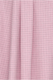 Long Sleep Shirt Dusty Pink Check