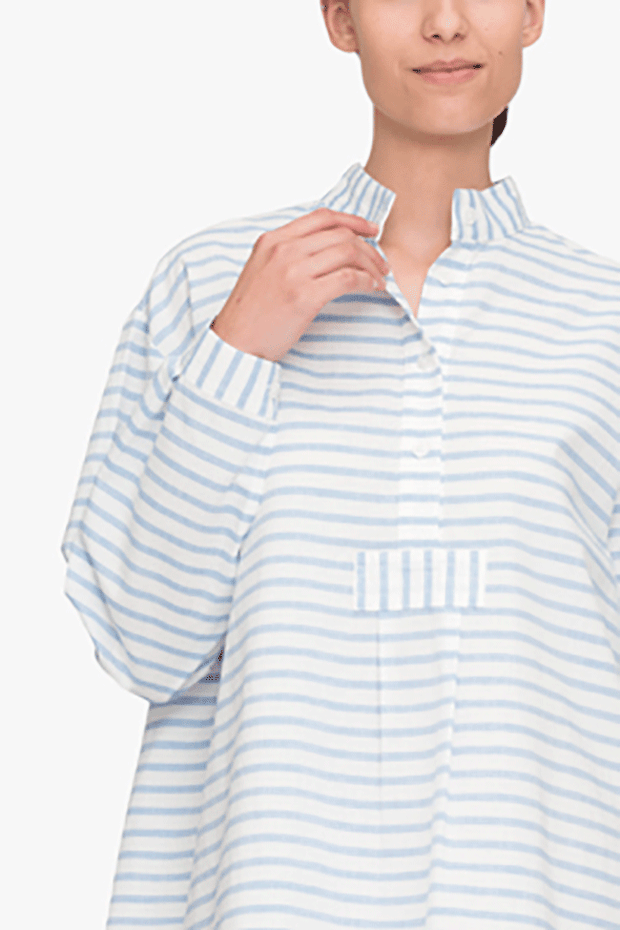 Short Sleep Shirt Harajuku Stripe