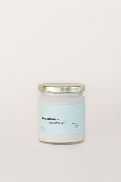 Pink Citrus & Garden Mint Candle