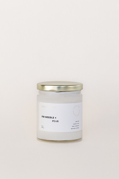 Fir Needle & Pear Candle