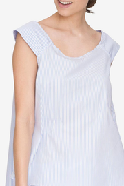 Swing Top Periwinkle Stripe