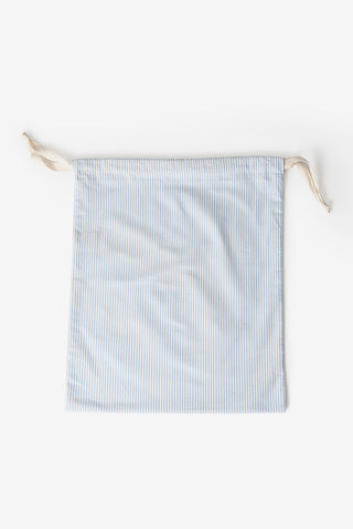Medium Dustbag Blue Oxford Stripe