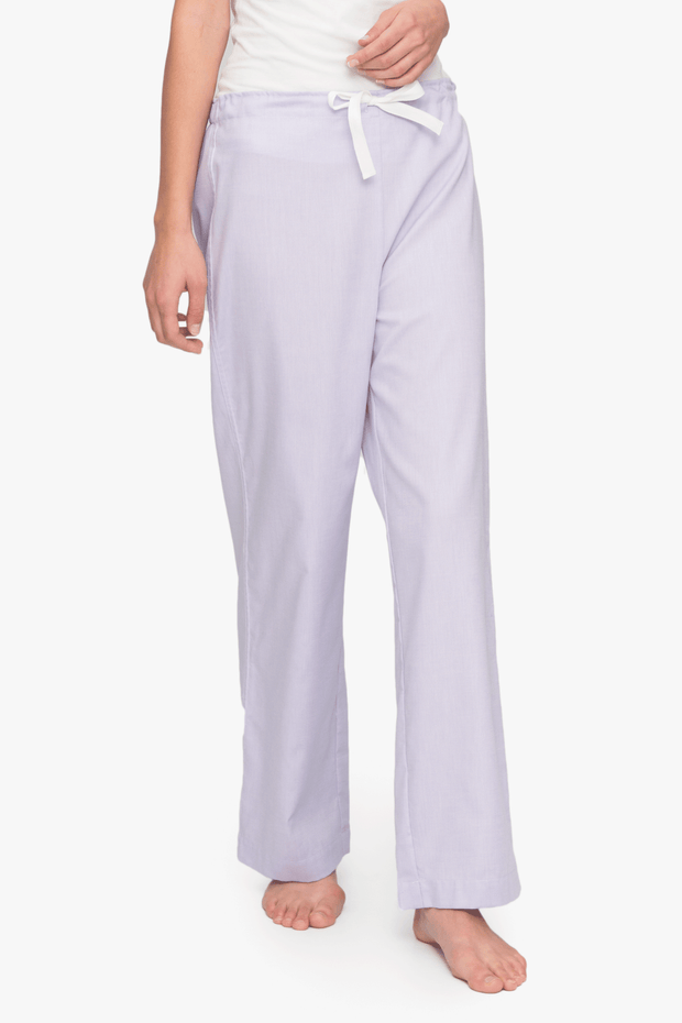 Set - Swing Top and Lounge Pant Lilac Royal Oxford