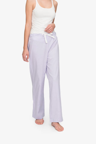 Lounge Pant Lilac Royal Oxford
