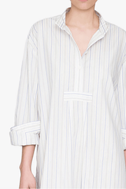 Long Sleep Shirt Memphis Stripe