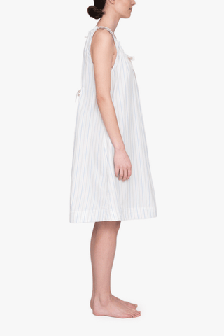 Sleeveless Nightie Memphis Stripe