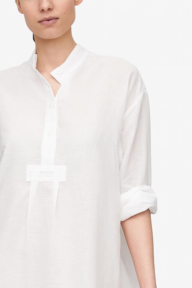 Short Sleep Shirt Milano Featherweight Blend
