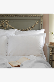 St. Genève Nicola Linen Bedding - Optical White