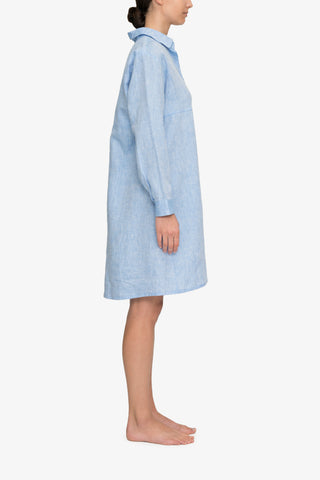 Button Down Sleep Shirt Ocean Linen