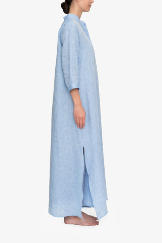 Full Length Sleep Shirt Ocean Linen