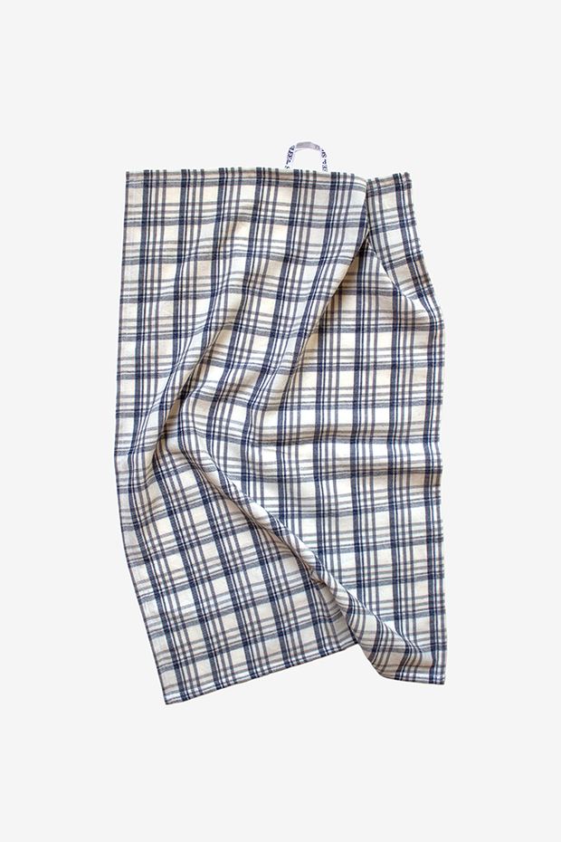 Overcast Plaid Tea Towel - Set of 2