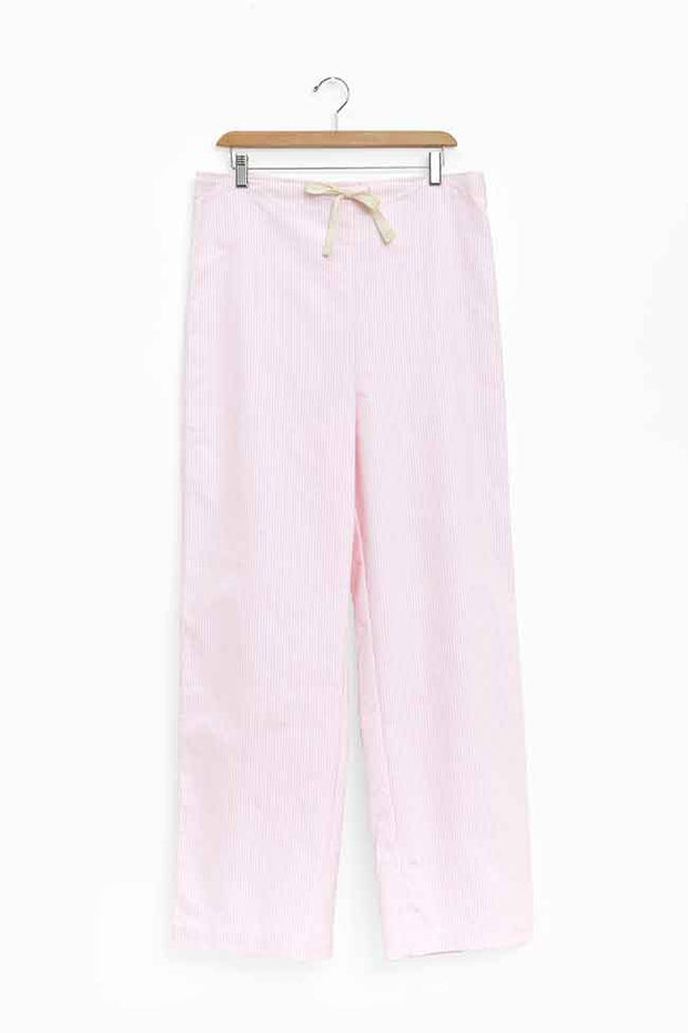 Lounge Pant Pink Oxford Stripe