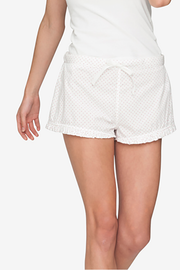 Ruffle Short Red Dot