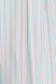 Short Sleep Shirt Garden Stripe