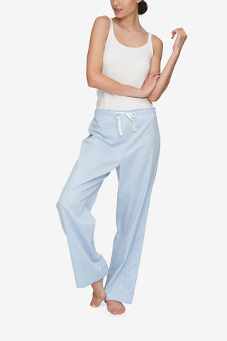 Lounge Pant Soft Blue Stripe