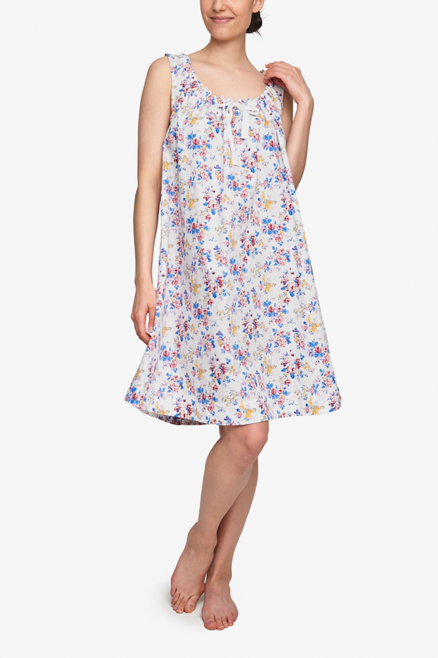 Sleeveless Nightie Summer Floral