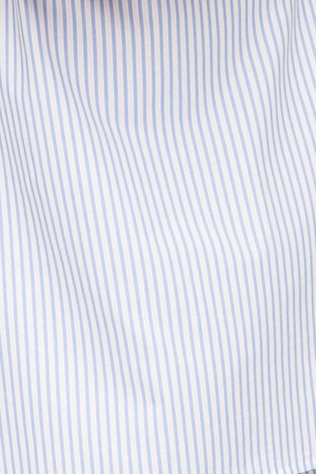 Slip On Sleep Shirt Sunday Uniform Stripe PLUS