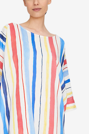 Oversized Kaftan Midsummer Stripe