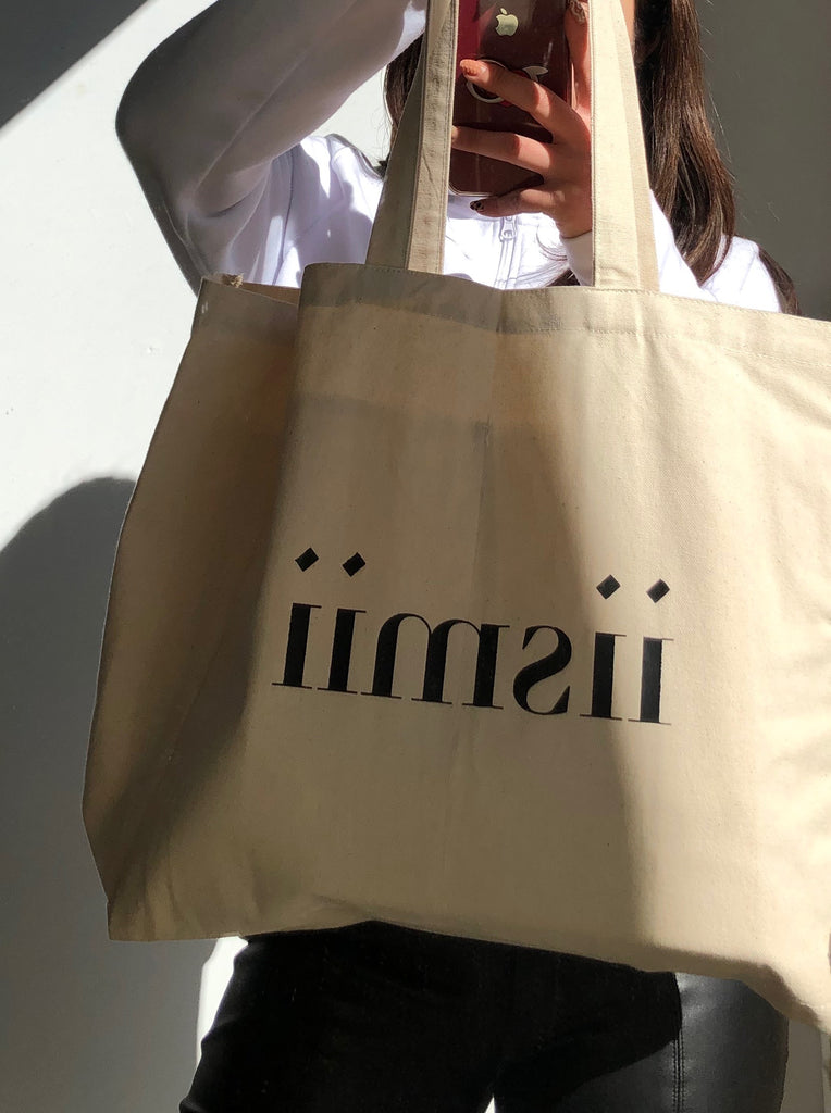 The iismii Monogrammed Tote