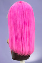 "Load image into Gallery viewer, Mei Pink 14"" Full Lace BOB Wig"