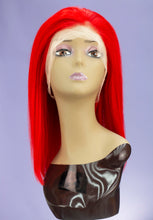 "Load image into Gallery viewer, Scarlet 14"" Inch Full Lace Bob Wig"
