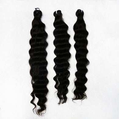 Natural Malaysian Collection Loose Deep Bundles