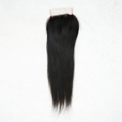 Luxury Natural Straight Closure