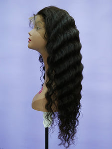Indian Natural Loose Deep Full Lace Wig