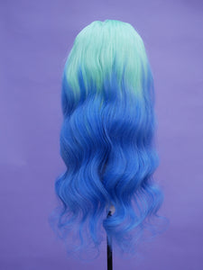 "Aquamarine 28"" Body Wave Full Lace Wig"