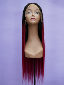 Ombre Wine Full Lace Wig