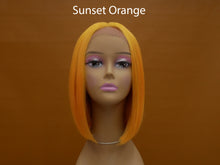 Load image into Gallery viewer, Color Splash Synthetic Lace Front Bob Wig