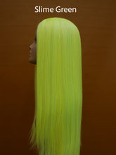 "Load image into Gallery viewer, Color Splash 24"" Synthetic Lace Front Wig"