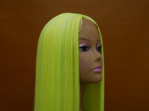 "Color Splash 24"" Synthetic Lace Front Wig"
