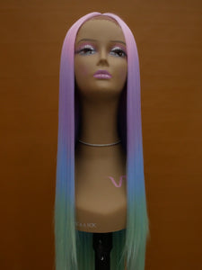 "Exclusive Mermaid 26"" Synthetic Lace Front Wig"