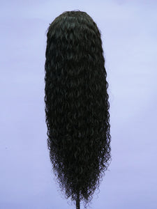Indian Natural Dominican Curl Full Lace Wig