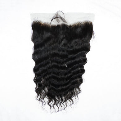 Luxury Malaysian Loose Wave Natural Frontal