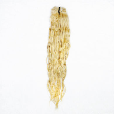 Luxury Pure Raw Indian Hair 613 Platinum Blonde Weft Extensions