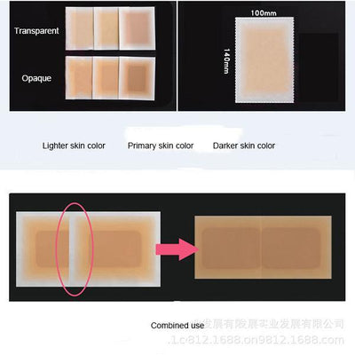 Tattoo Concealer Tape Scar Cover Invisible Sticker